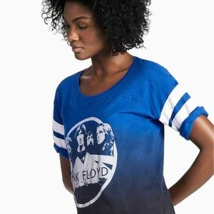 Lucky Brand x Pink Floyd Ombré Baseball Tshirt XL